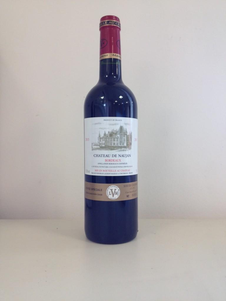 bouteille DE NAUJAN 2013