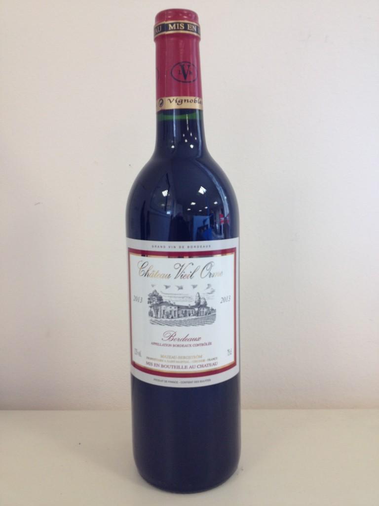 bouteille VIEIL ORME 2013